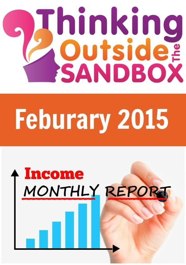February 2015 Blog Income Report