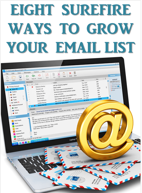 8 ways to grow your email list