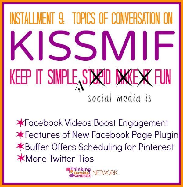 Easy tips for Facebook, Pinterest, and Twitter--enjoy Social Media!