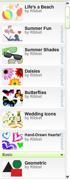 Stickers available on Ribbet