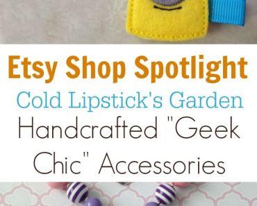 Etsy Shop Spotlight - Cold Lipstick's Garden