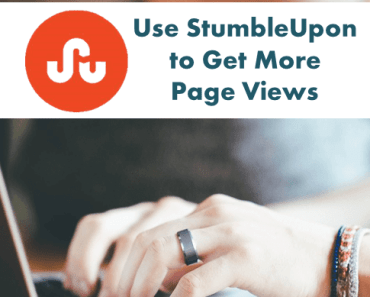 Use StumbleUpon to get more page views