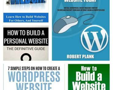 5 FREE How To Build A Website eBooks