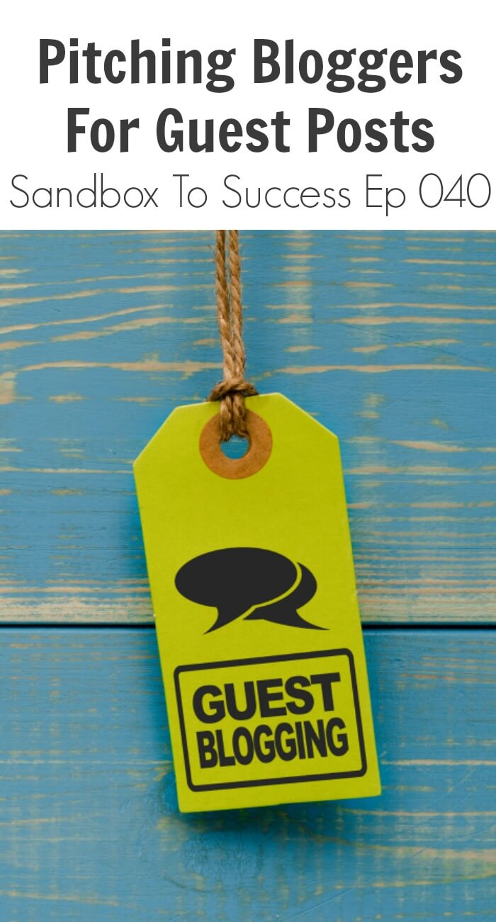 Guest Post Joshua From Slimpalate: Pitching Bloggers For Guest Posts