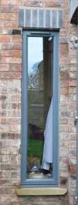 Window in rear extension to Bowdon family home.