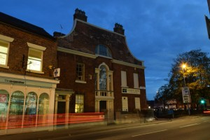 Fashion in Knutsford and Dingle. Architects image in Macclesfield of Classical architecture.