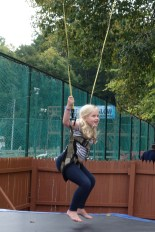 Grace jumping