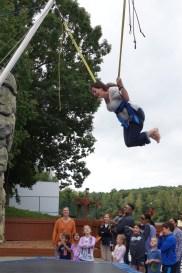 Katherine jumping