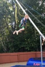 JBT jumped a few times