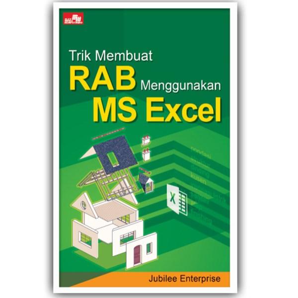 trik membuat RAB menggunakan MS Excel