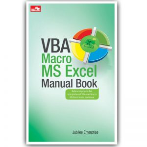 vba macro ms excel manual book