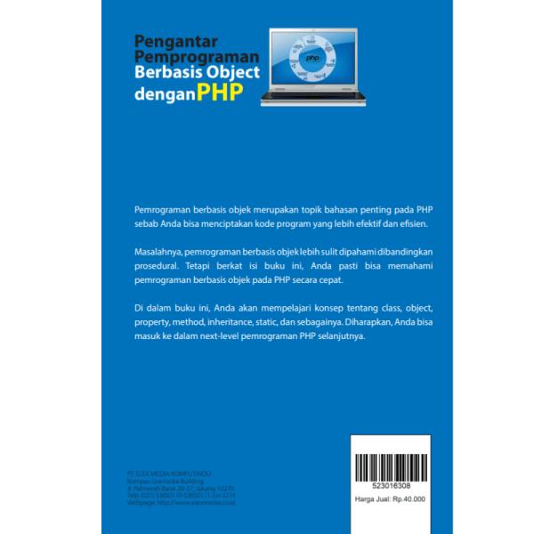 Pengantar Pemrograman Berbasis Object dengan PHP