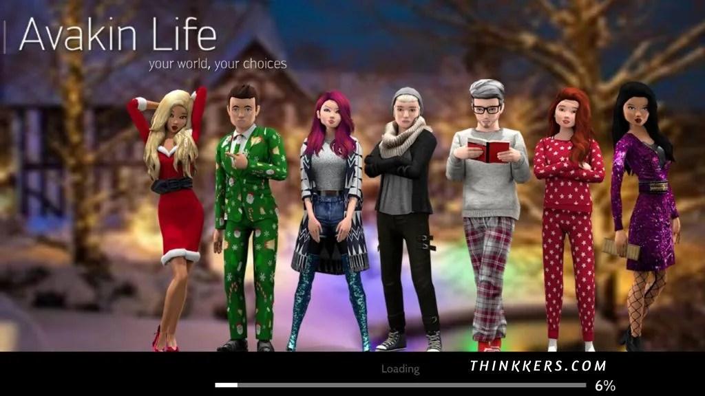 avakin life 3d virtual world mod apk