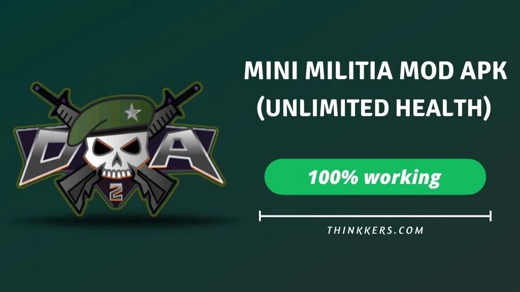 mini militia unlimited health mod apk
