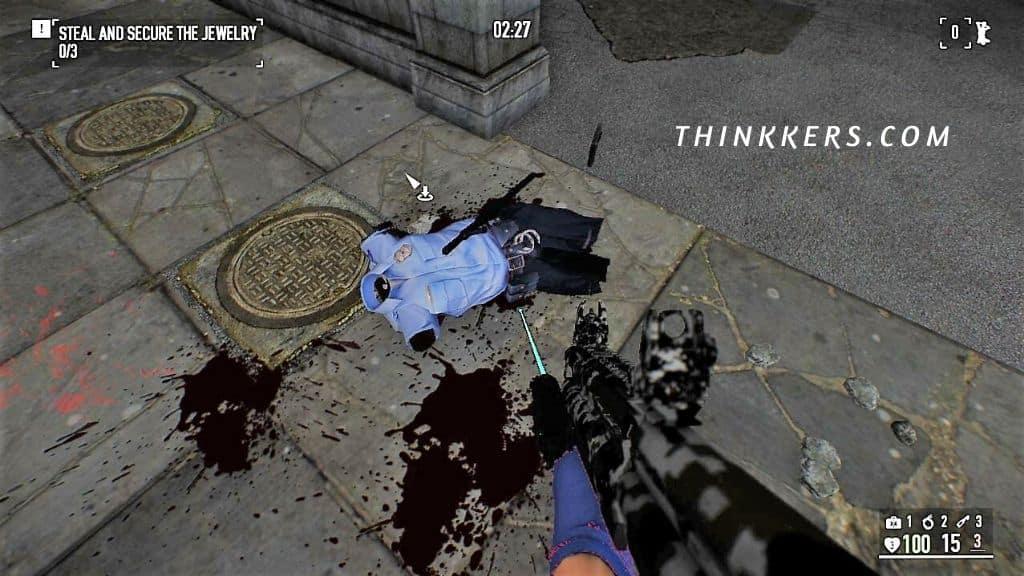 Bullet Dismemberment MOD