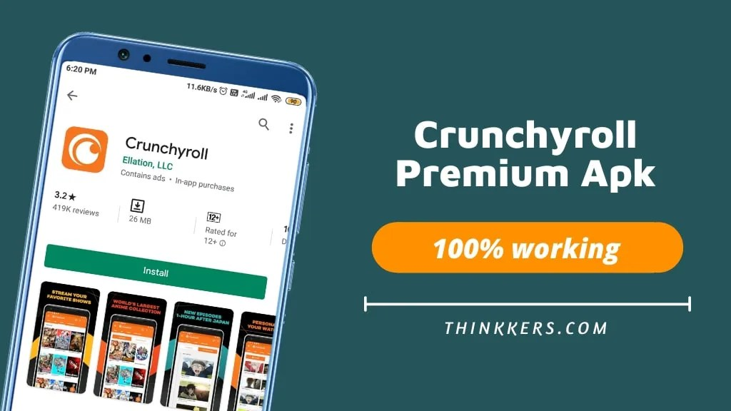 Crunchyroll Premium Apk - Copy