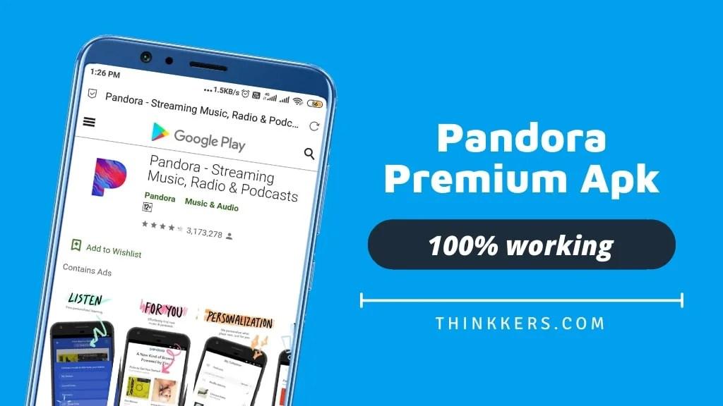 Pandora Premium Apk