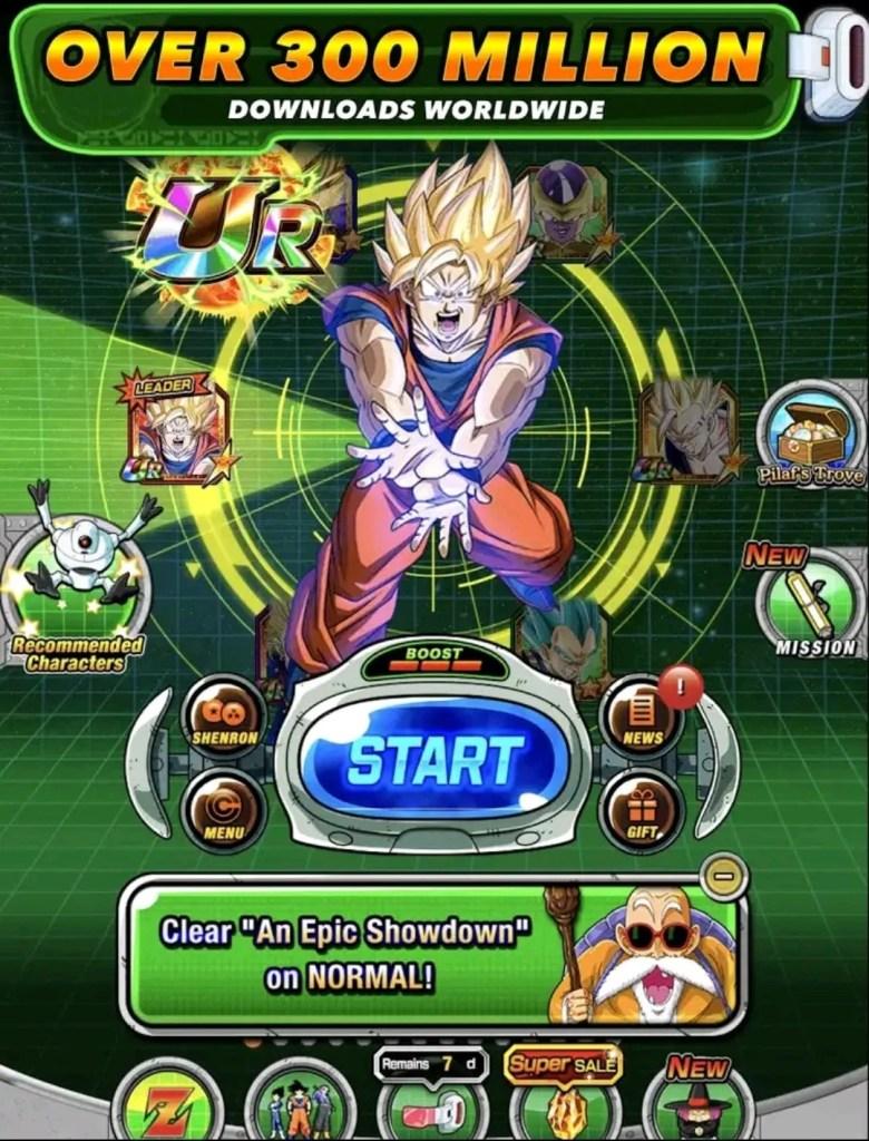 DBZ Dokkan Battle mod