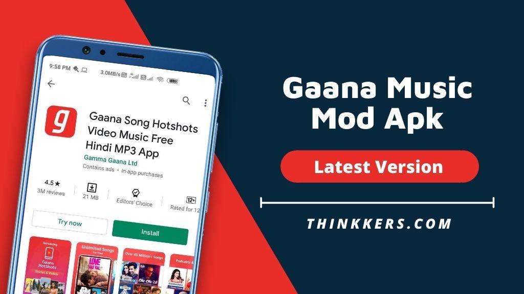 Gaana Music Mod Apk