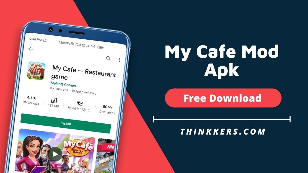 My Cafe - Restaurant game Mod Apk