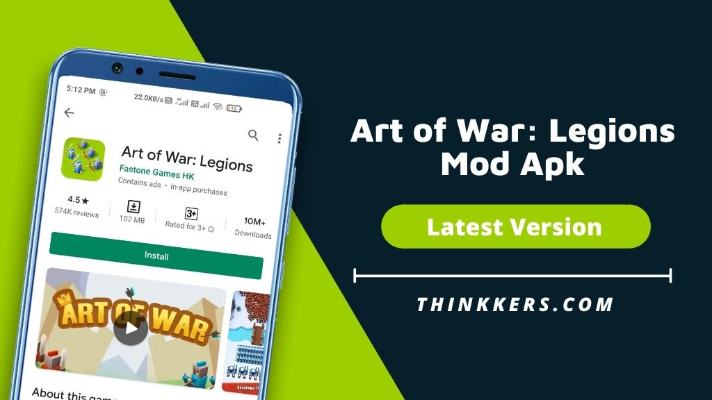 Art of War Legions Mod Apk