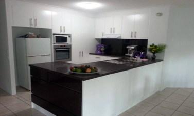 The final kitchen itself