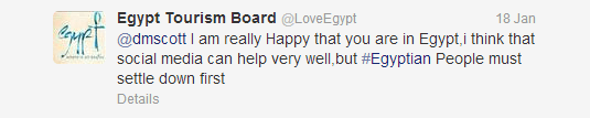 The Official Twitter Account of #Egypt Tourism Board