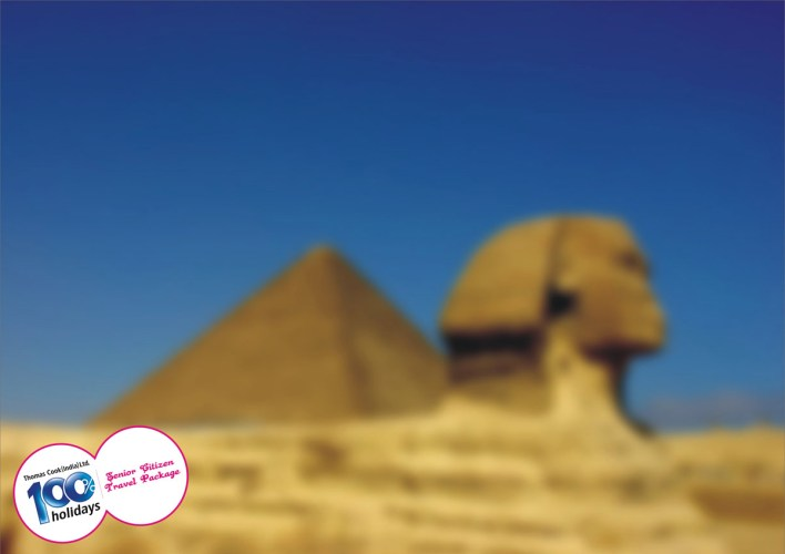 100% Hoildays: Senior Citizen Travel Package, Pyramids