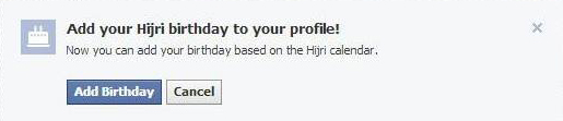 Facebook adds Islamic Hijri calendar for birthday feature in Saudi Arabia