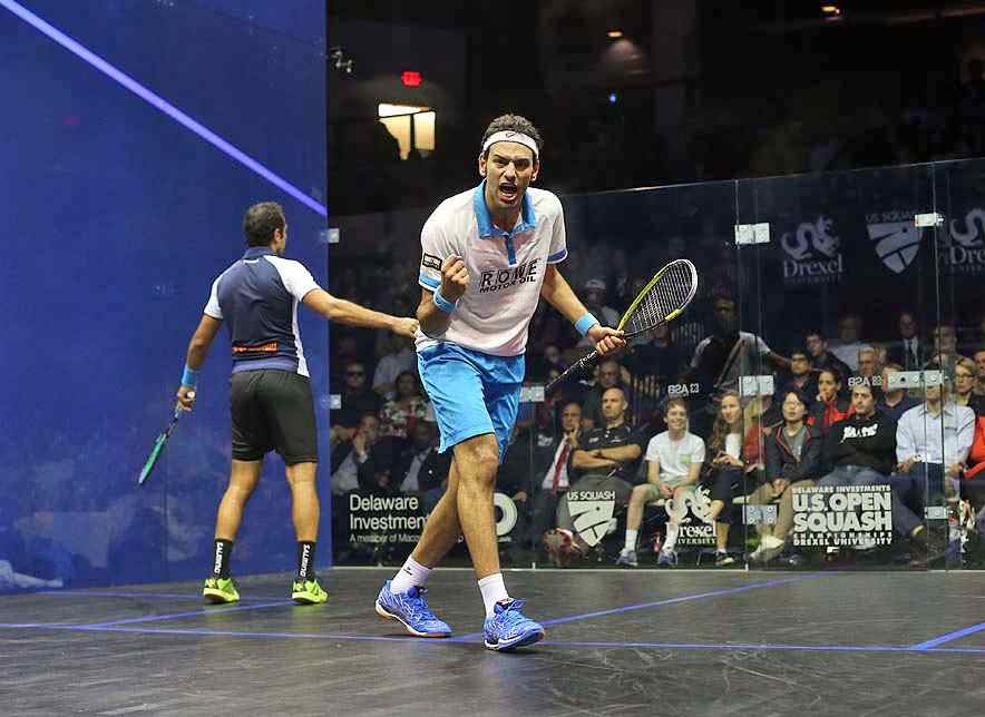 Mohamed El-Shorbagy unleash power in US Open final for Squash