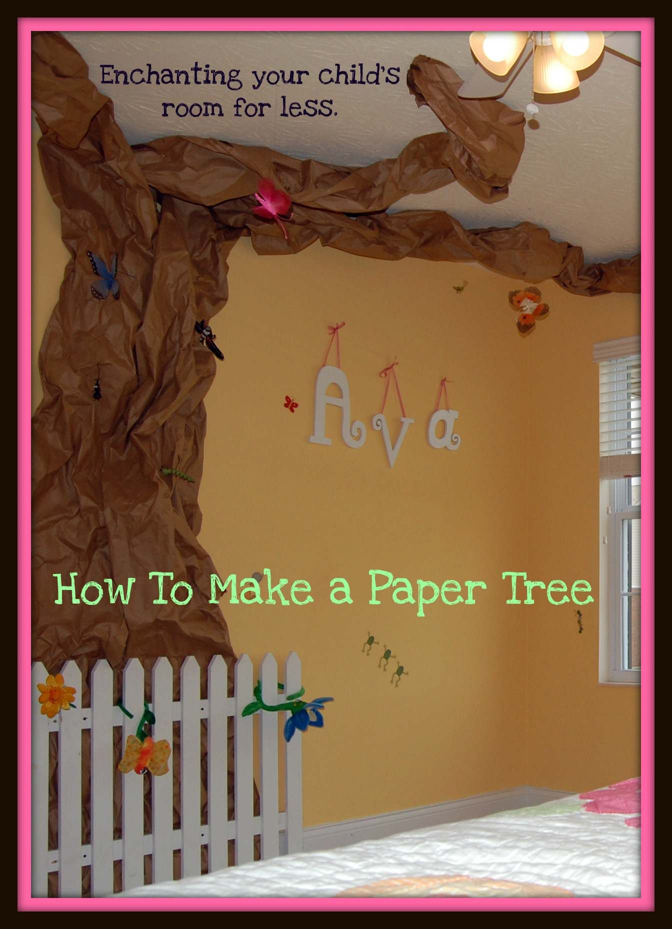 Paper Tree Tutorial Think Magnet
