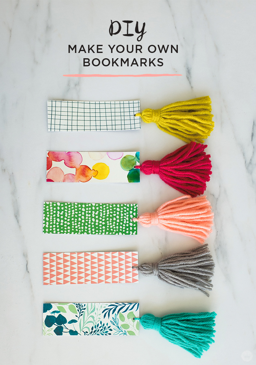 Free Download Diy Tassel Bookmarks  Thinkmakeshare