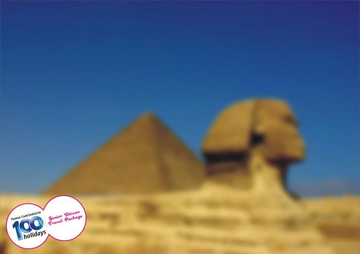 100% Hoildays: Senior Citizen Travel Package, Pyramids
