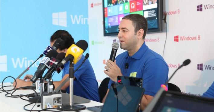 Microsoft Launches Windows 8 in Egypt - November 8th 2012