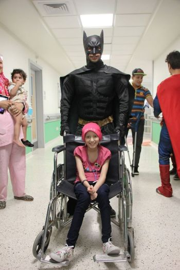 Superheroes in 57357 Children's Cancer Hospital 2 (2)