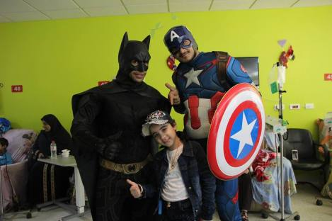 Superheroes in 57357 Children's Cancer Hospital 2