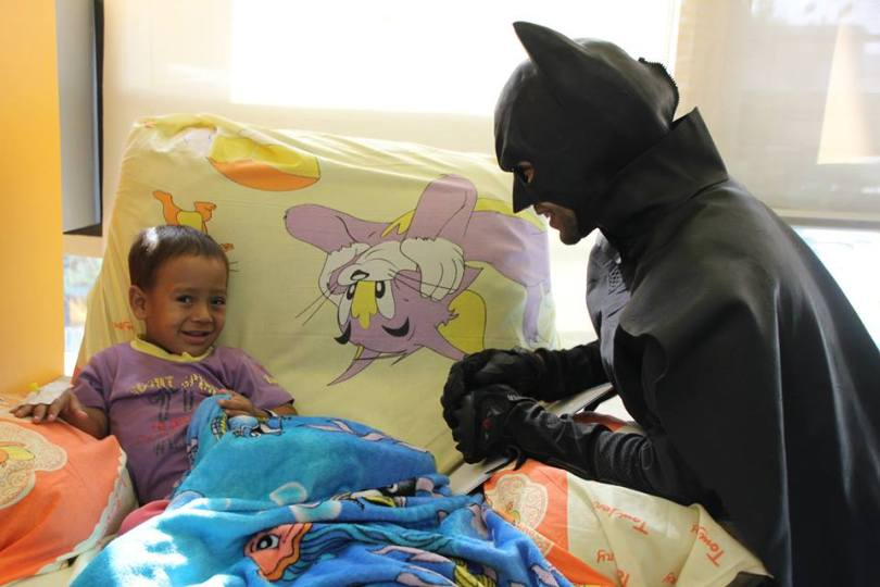 Superheroes in 57357 Children's Cancer Hospital 3