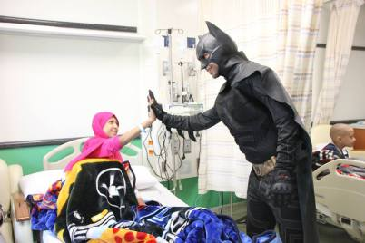 Superheroes in 57357 Children's Cancer Hospital 4