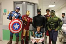 Superheroes in 57357 Children's Cancer Hospital 5