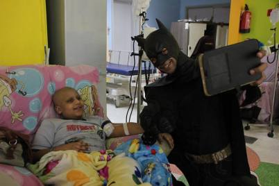 Superheroes in 57357 Children's Cancer Hospital 8