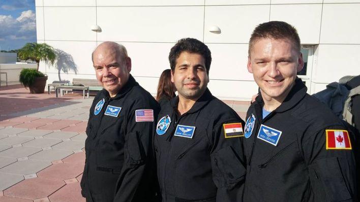 Akram Amin Abdellatif, First Egyptian astronaut candidate. Image source: Facebook