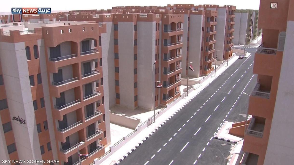 Al-Asmarat neighborhood project is being implemented in order relocate the residents of dangerous slums