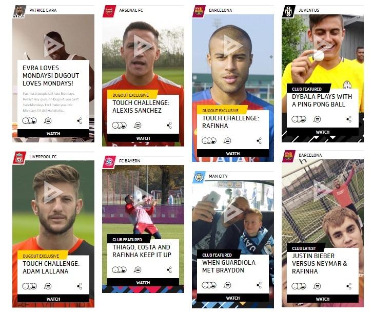 dugout-social-media-launch