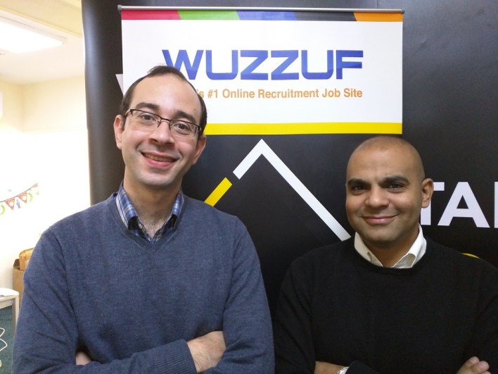 Amr El Gabry, CEO and founder of Viriphi and Ameer Sherif, CEO and co-founder of BasharSoft