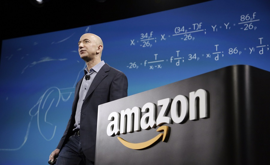 Jeff Bezos: founder, chairman, and chief executive officer of Amazon.com
