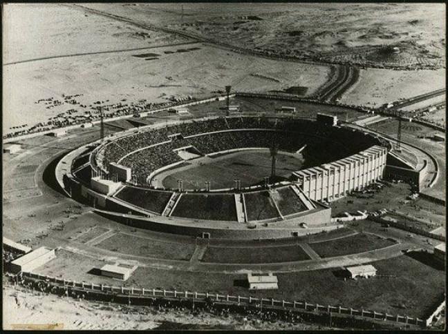Cairo Stadium in 1960
