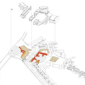 Proposal for the Waterfront, Crotone, Italy [Venice Biennale 2006]. 09