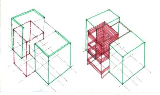 03 Sketches for Surat House.