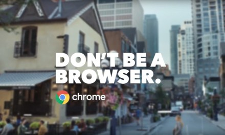 AdWatch: Google Chrome   Don't Be A Browser
