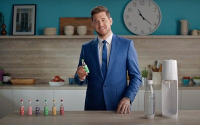 AdWatch: SodaStream | Michael Bublé Makes Fresh Sparkling Water